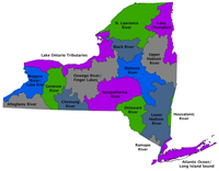 NYS DEC Watershed Map